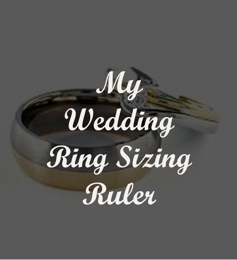 Download the Free Wedding Ring Size Ruler to Get Your Correct Ring Size