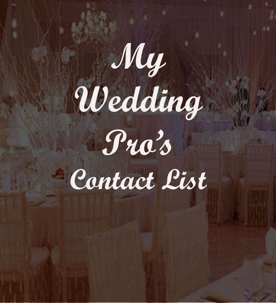 Wedding Vendor Shortlist