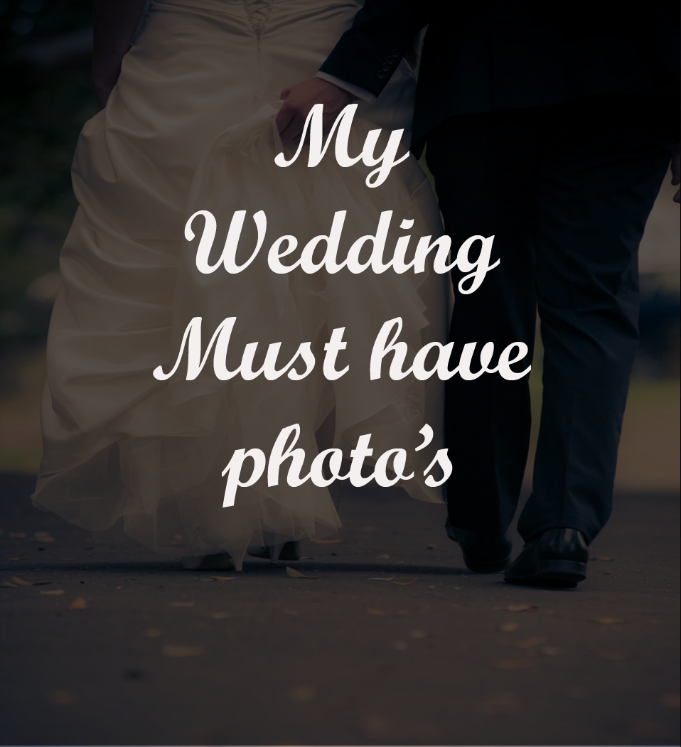 Checklist of Must Have Wedding Photos - (Free to Download)